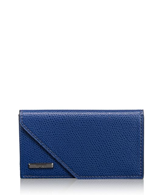 Business Card Case in Blue
