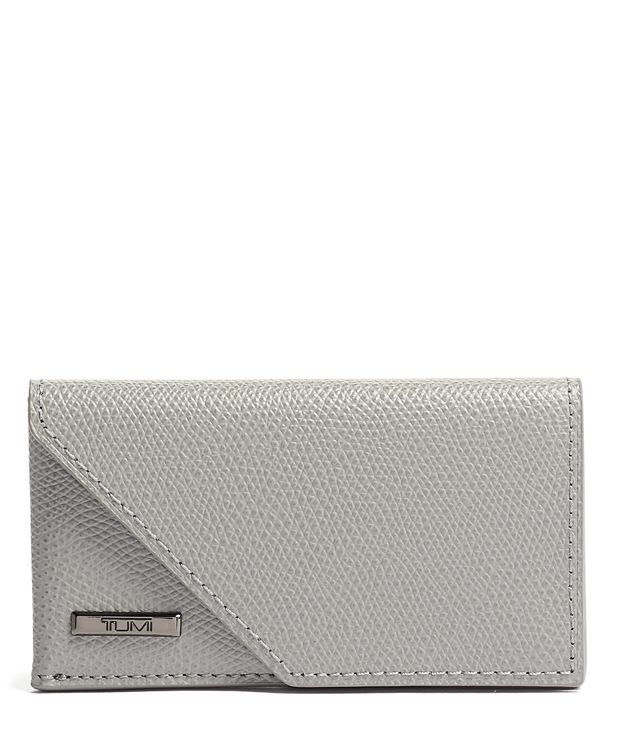Business Card Case in Elephant Grey