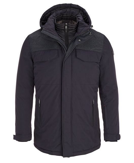 Men's Expedition Parka in Black