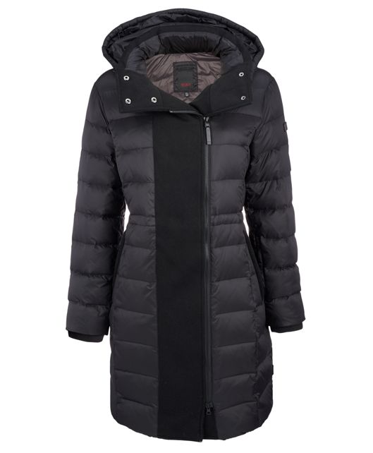 Women's Down Parka in Black