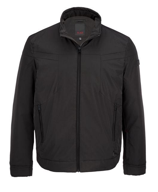 Men's Modern Golf Jacket in Black