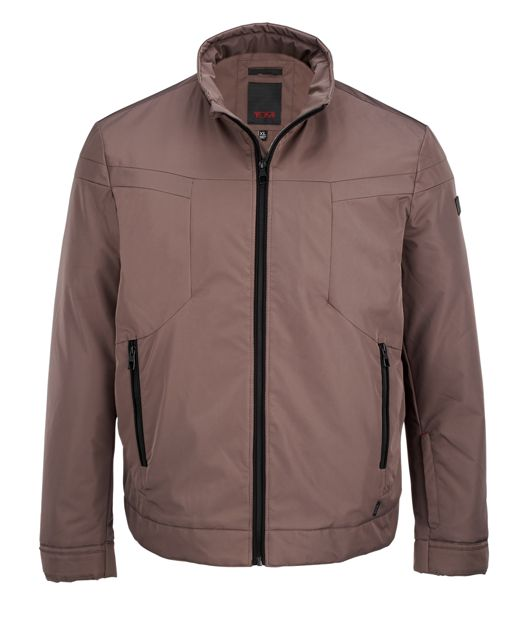 Men's Modern Golf Jacket in Khaki