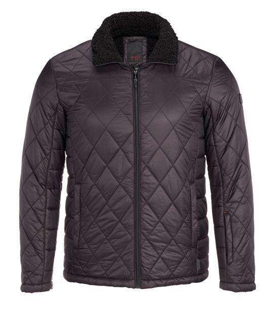 Men's Transit Quilt Jacket in Black