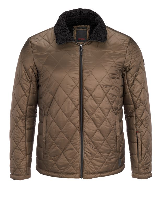 Men's Transit Quilt Jacket in Loden