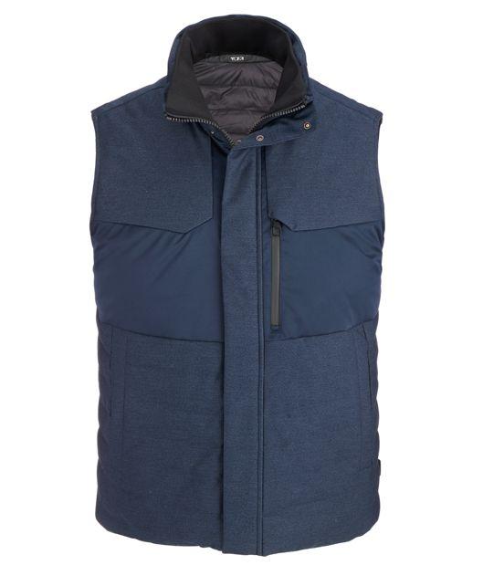 Men's Heritage Reversible Vest in Blue
