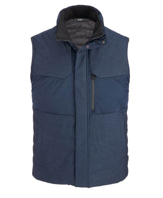 Men's Heritage Reversible Vest in Blue