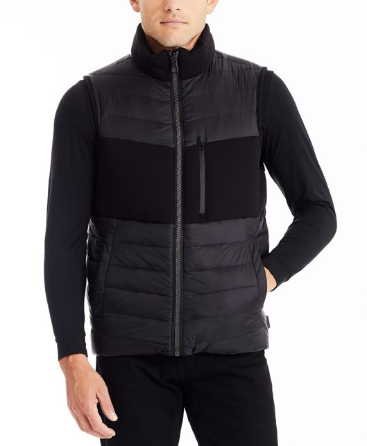 Men's Heritage Reversible Vest in Black/Navy