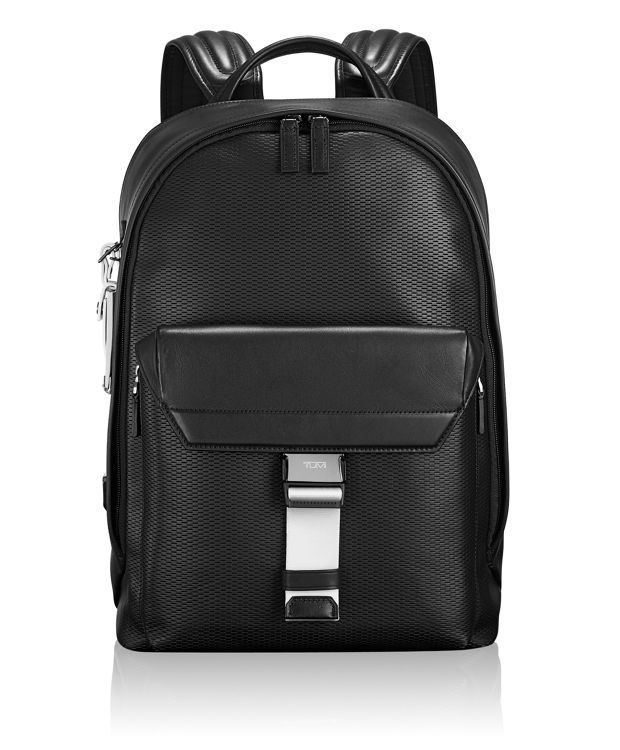 Morrison Backpack Leather in White