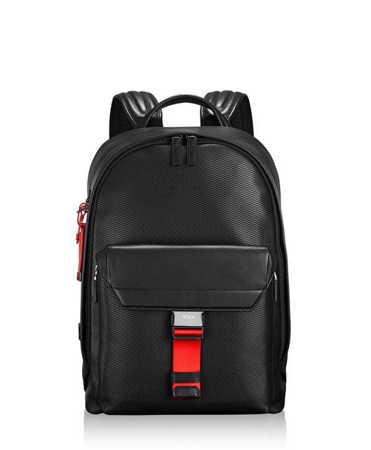 Morrison Backpack Leather in Ember