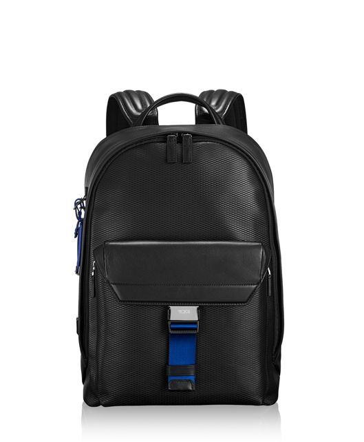 Morrison Backpack Leather in Atlantic