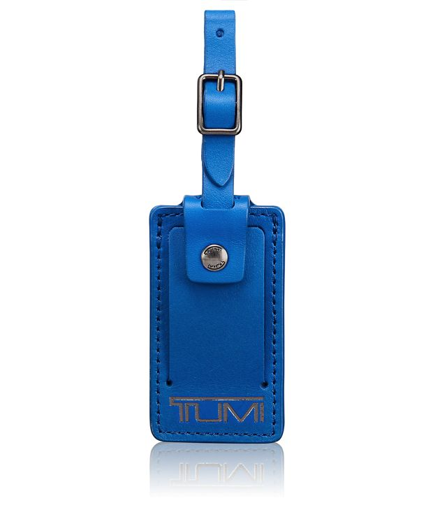 Small Luggage Tag in Blue