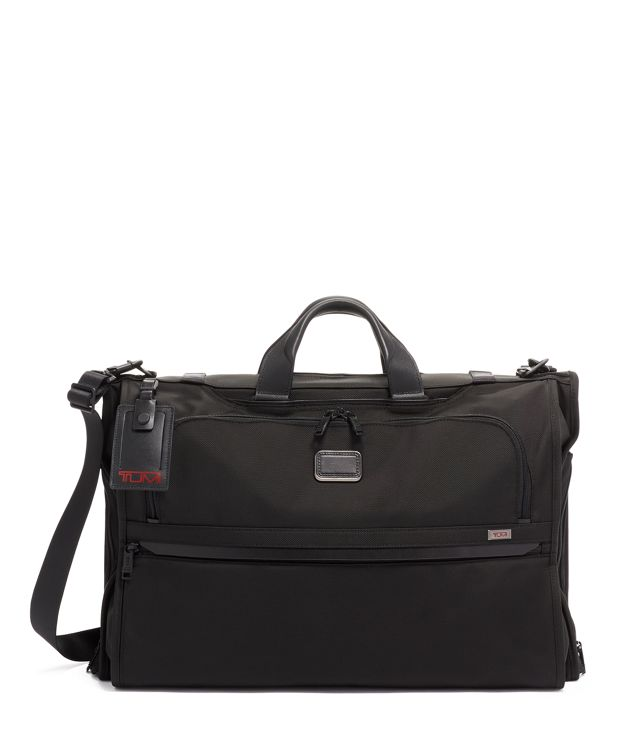 Garment Bag Tri-Fold Carry-On in Black