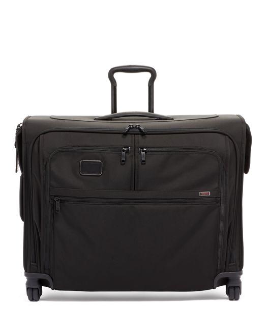 Medium Trip 4 Wheeled Garment Bag in Black