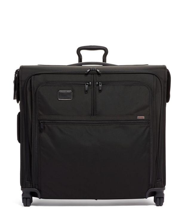Extended Trip 4 Wheeled Garment Bag in Black
