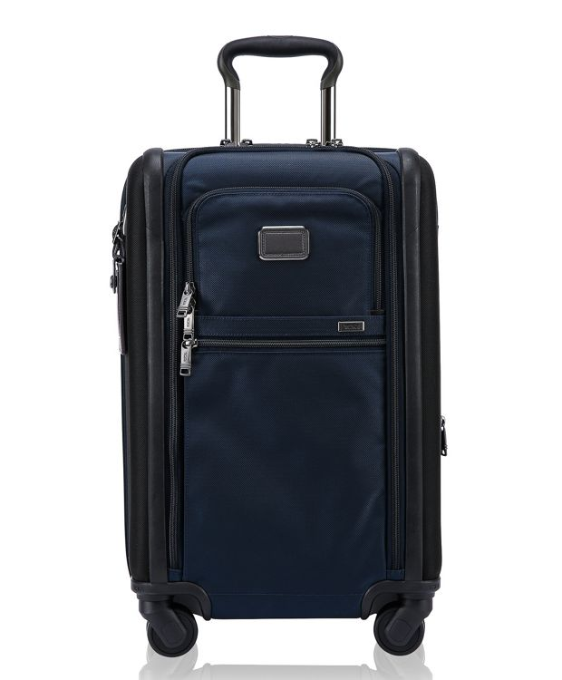 International Dual Access 4 Wheeled Carry-On in Navy