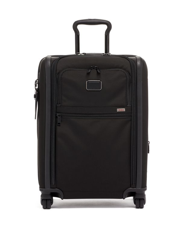 Continental Dual Access 4 Wheeled Carry-On in Black
