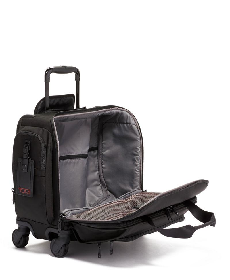 黑輕便四輪手提旅行袋