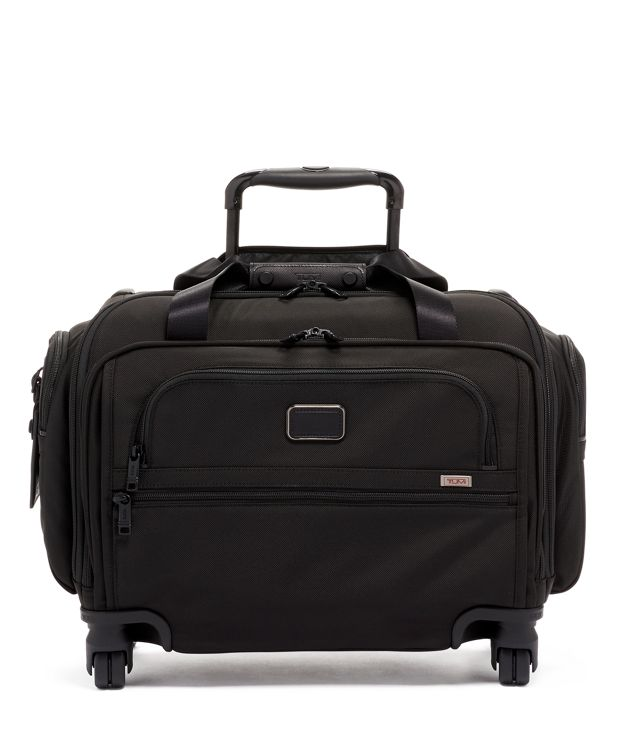 COMPACT 4 WHL DUFFEL in Black