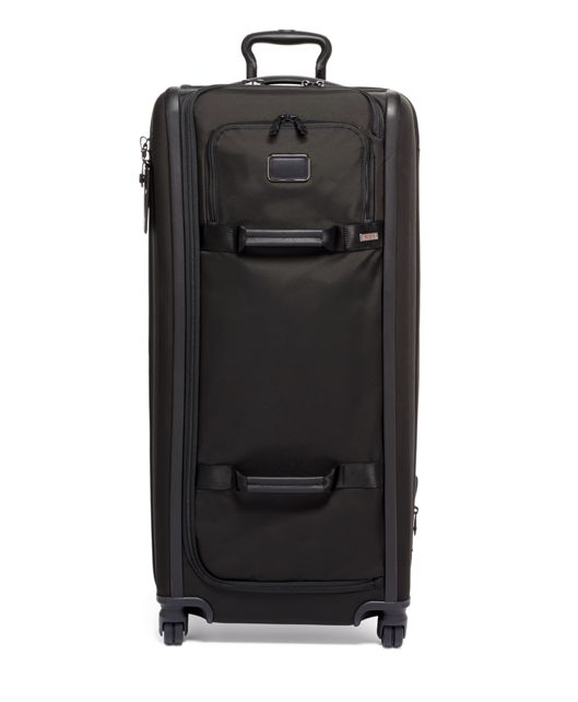 Tall 4 Wheeled Duffel Packing Case in Black