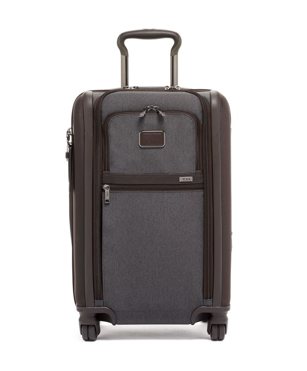 Anthracite International Dual Access 4 Wheeled Carry-On