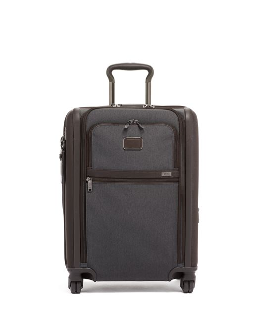 Continental Dual Access 4 Wheeled Carry-On in Anthracite