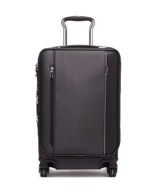International Dual Access 4 Wheeled Carry-On in Pewter