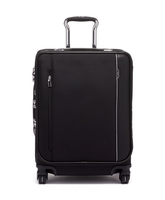 Black Continental Dual Access 4 Wheeled Carry-On