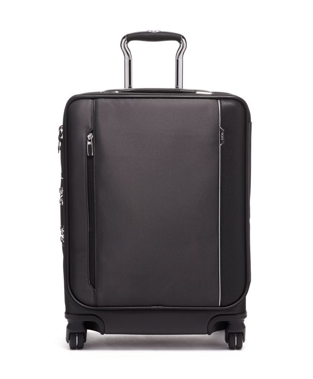 Continental Dual Access 4 Wheeled Carry-On in Pewter