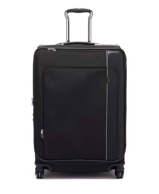 Short Trip Dual Access 4 Wheeled Packing Case in Black