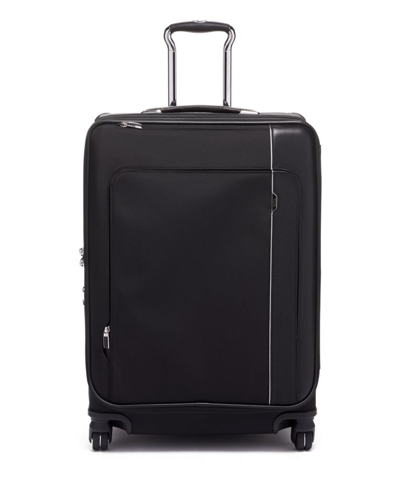 Black Short Trip Dual Access 4 Wheeled Packing Case