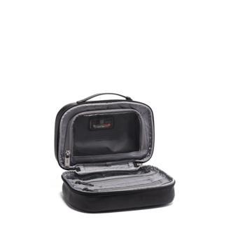 Split Travel Kit Leather in Black Leather 2c0341af215f6
