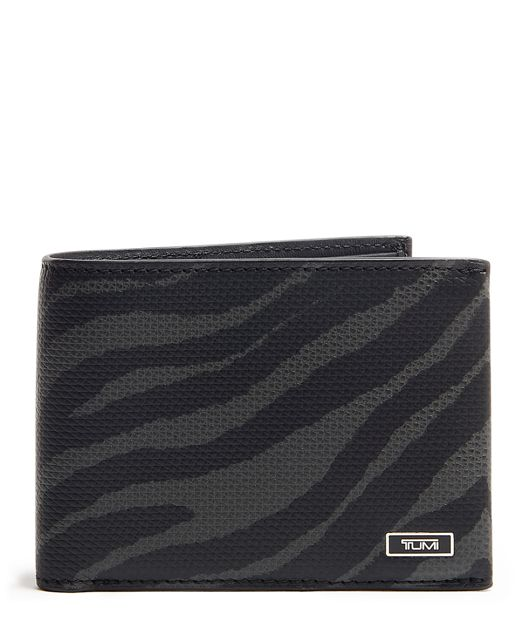 Double Billfold in Tiger Print
