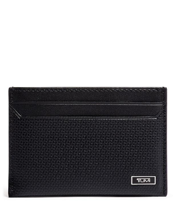 Slim Card Case in Black