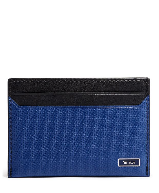Slim Card Case in Navy