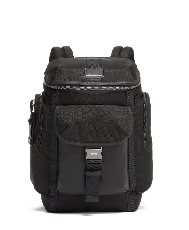 Wright Top Lid Backpack in Black
