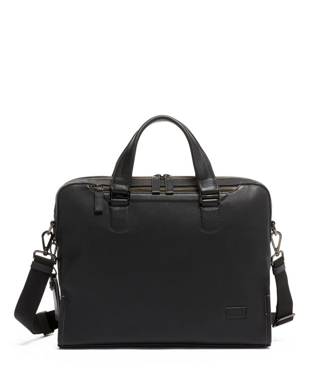 Bradford Brief Leather in Black Leather