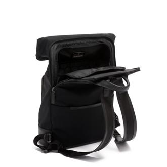 OAK ROLL TOP BACKPACK Black - medium | Tumi Thailand