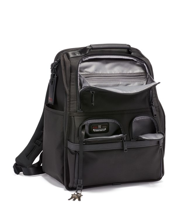 Black COMPACT LAPTOP BRIEF PACK
