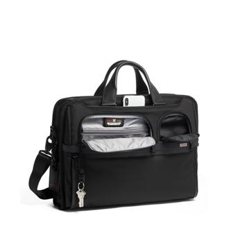 COMPACT LG LAPTOP BRIEF Black - medium | Tumi Thailand