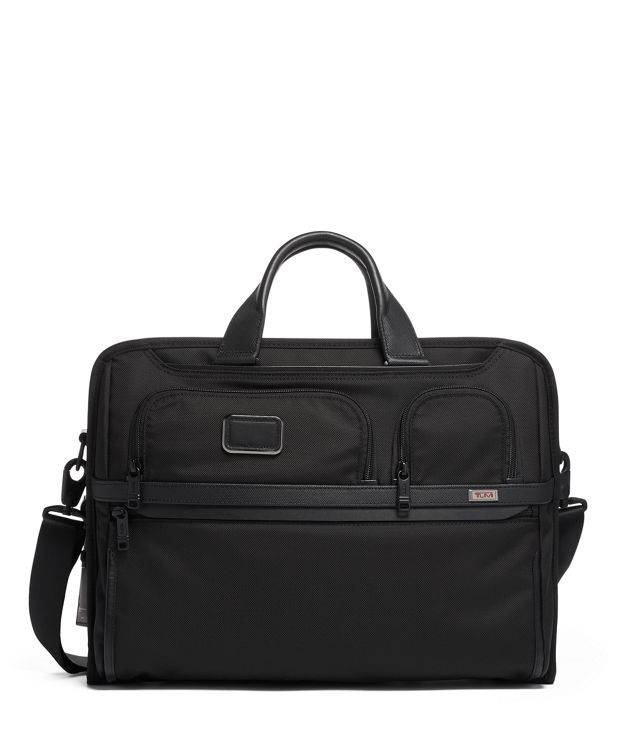 Compact Large Screen Laptop Brief in Black