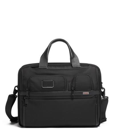 TUMI T-Pass® Expandable Laptop Brief - Alpha 3 - Tumi United States - Black