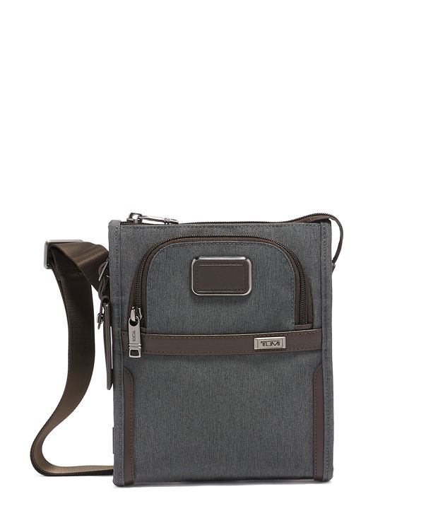 Pocket Bag Small in Anthracite
