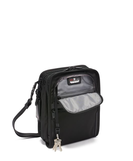 ORGANIZER TRAVEL TOTE Black - large | Tumi Thailand