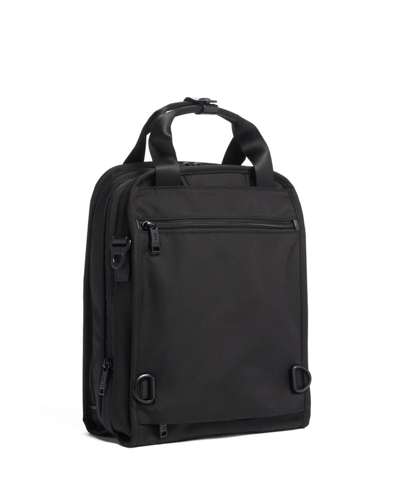 Black MEDIUM TRAVEL TOTE