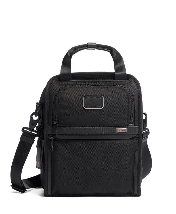 黑中型旅行手挽斜揹袋