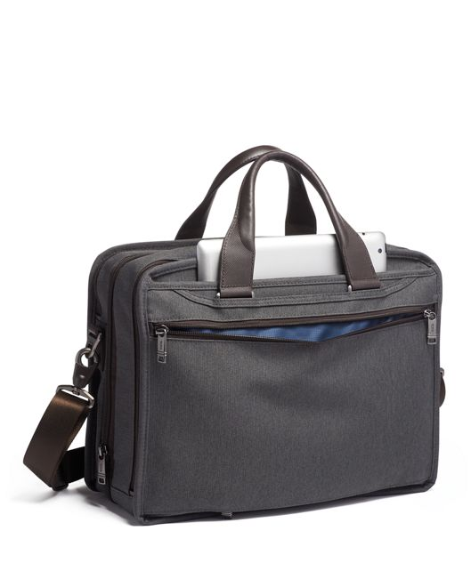 EXP ORG LAPTOP BRIEF Grey - large | Tumi Thailand