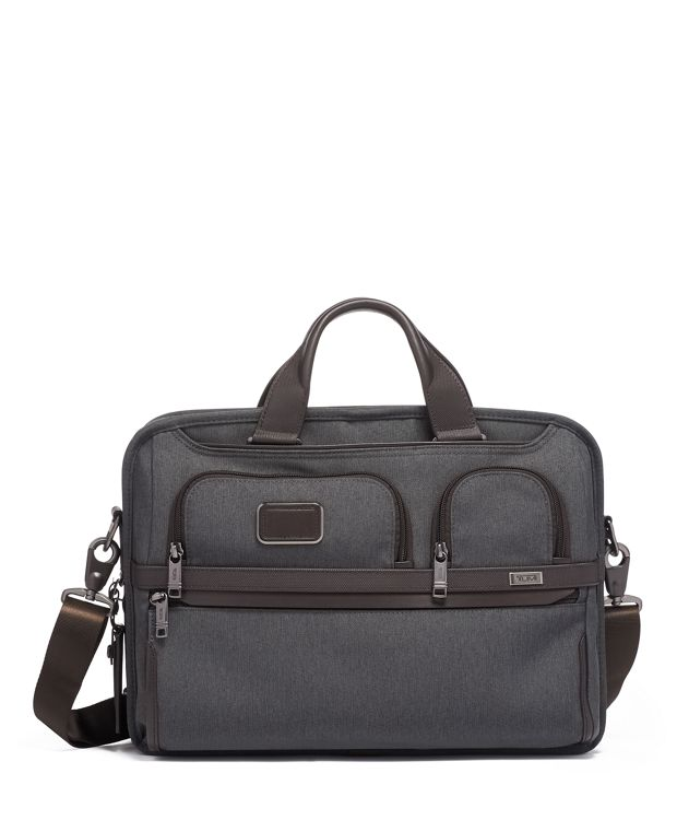 TUMI T-Pass® Medium Screen Laptop Slim Brief in Anthracite