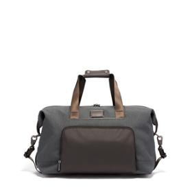 66a1106f9015 Double Expansion Travel Satchel in Anthracite