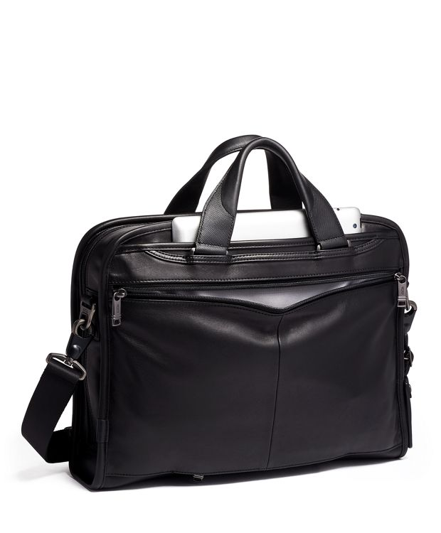 Organizer Portfolio Brief Leather