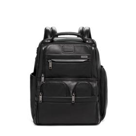 5213d02e4 Compact Laptop Brief Pack® Leather in Black Leather